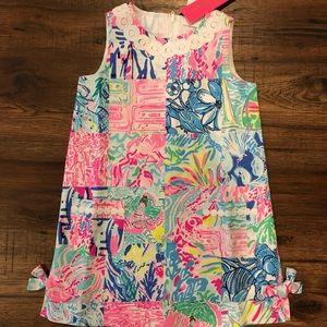 NWT Lilly Pulitzer mini Girls class shift dress 5